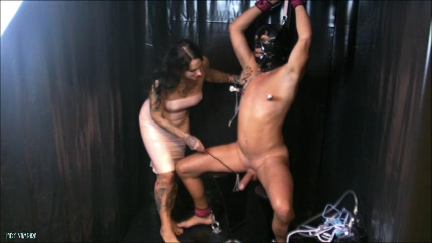 Latex Lady Vampira 3 After Cum Torture von LadyVampira